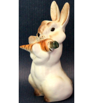 Hare with carrot